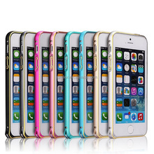 fashion bumper case for ipod touch 5 wholesale metal fram for mobile phone