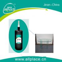 High curing speed transparent traceless glass uv glue