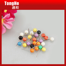 Colored 5x17mm Ball Head Map Pin for Marking