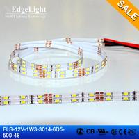 saving energy decorating soft waterproof 12v lighting led advertisement edgelight strip