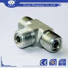 Bsp Treaded Male Tee T Connector Oil and Gas Pipe Fitting