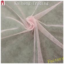 Pink mesh fabric for kids princess wedding dresses