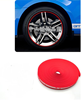 Wheel Rim Edge Protection Guard Tape for Cars Roll Red