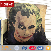 2015 Creative Movies Design Printed Cushion Home Decor Lumbar Support Pillow,Plush Decorative Cushion Covers