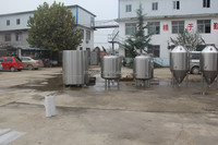 10bbl beer fermenter with dimple glycol jackets