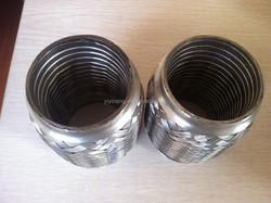 auto exhaust flexible pipe with interlock