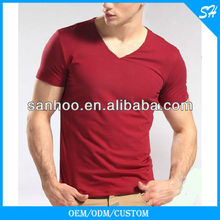 Fashion Mens Organic Cotton T Shirt for promotion