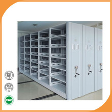 Factory direct sale compact shelving steel gear rack school furniture used in library