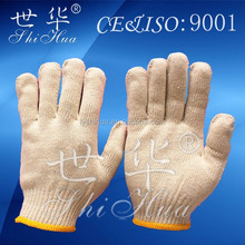 cotton polyester safety working gloves gloves for driving