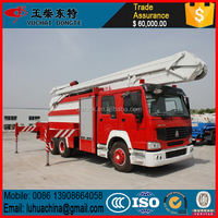Sino truck howo 12t 4x2 heavy rescue trucks sale fire trucks