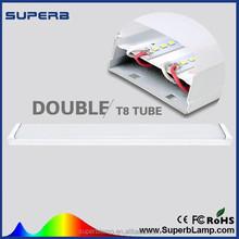 2ft 4ft 16w 32w Double t8 led fluorescent tube lamp