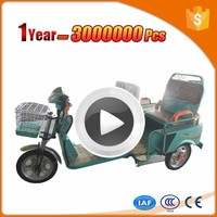 high quality three wheel electric cargo trike with discount