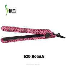 Brand New Style fashion zebra hair straightener