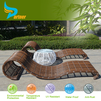 Sedex Factory Bedroom High Quality Beautiful Storage Chaise Inflatable Float Mesh Lounge Furniture