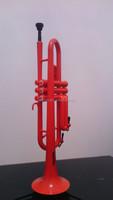 plastic trumpet same playable as brass trumpet