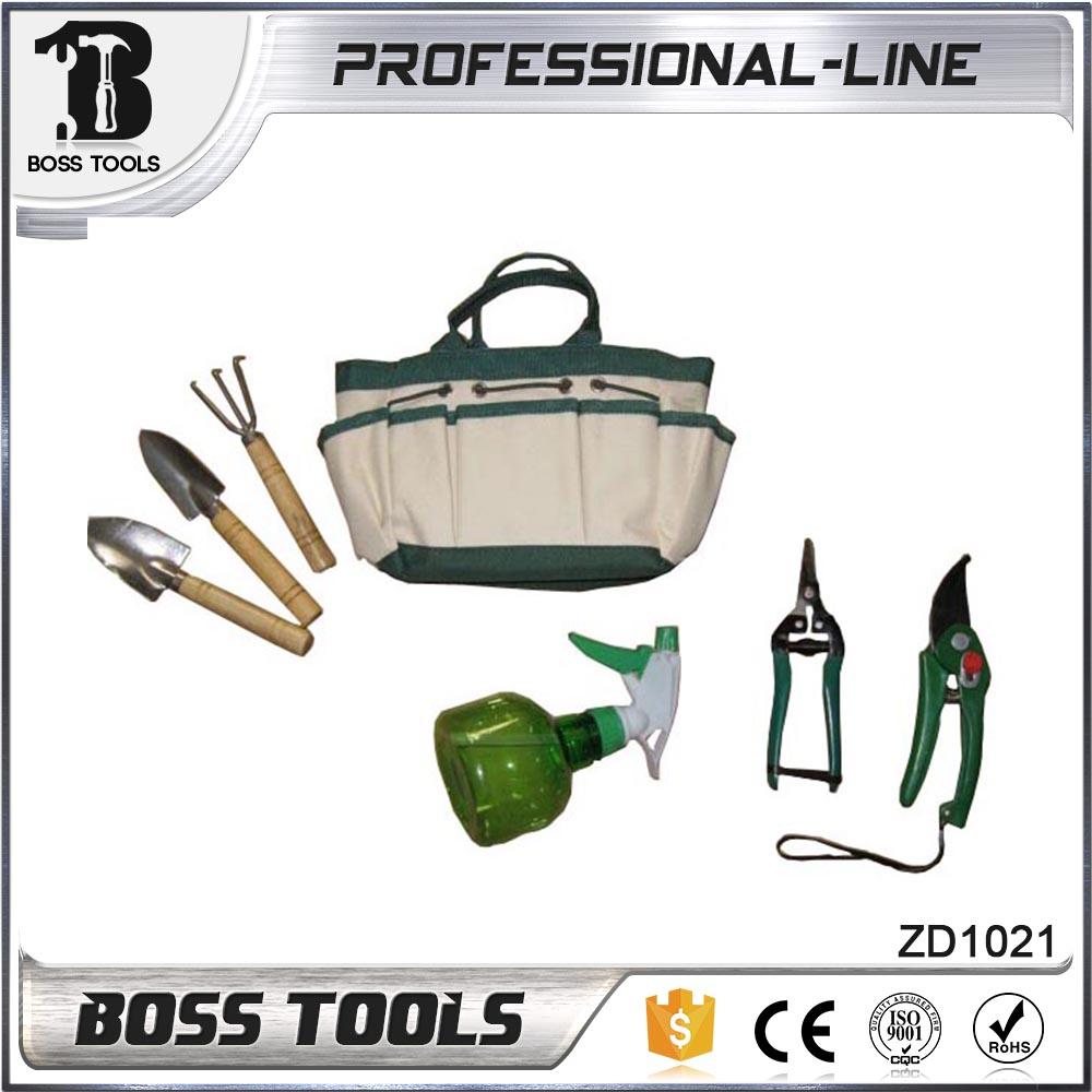 Super Grade Tools Carry Bag Novo 7pcs Garden Tool Set Escavando Rake Com 12 Dentes