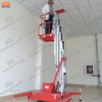 single mast commercial used motorcycle lift table for single person