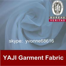 fluorescent white color super thin 100% nylon taffeta fabric