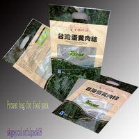 Customized Dragon printing vacuum bag for packaging food