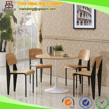 (SP-CT667) Four person classic wooden dining breakfast table and chair