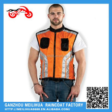2015 Hot selling Polyester Mesh Pocket Motorcycle Reflective Safety Vest