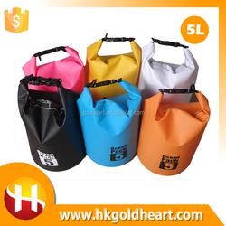 2016 Hot Sale 20L Portable Lightweight Outdoor Sport Camping Hiking Skiing Dry Waterproof Bag,500D PVC Canvas Waterproof Dry Bag