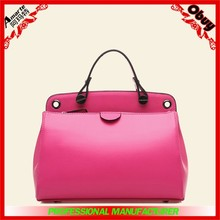 2015 China newest wholesale exported trendy PU leather handbag for women