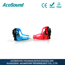 AcoSound Acomate 610 Instant Fit Best Selling TUV CE ISO Approval digital invisible cheapest electronics hearing aid custom