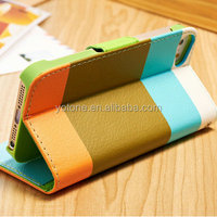 mobile leather case cover for apple / Hybrid Blu Cell Phone Case for Iphone 5 5S