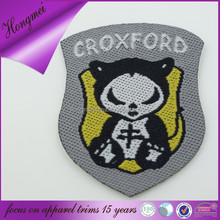 Direct factory high quality damask woven patch china