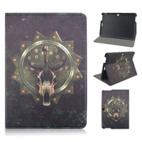Horror Flip Folio Stand 10.1inch PU Leather Tablet Cover Case For ASUS MeMO Pad 10 (ME103K)