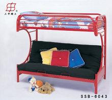 best sale modern home furniture type sleeping multi-function metal bunk sofa bed , sofa cum bed designs