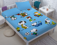 100%cotton DIY Snoopy bed sets for adult children bed linen with duvet cover/bed sheets kids bedding king twin queen size