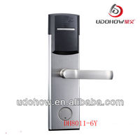 Hotel key card door entry systems