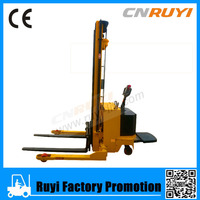 Power lift equipment 2000kg self lift electric for warehouse