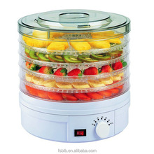 Electric home use fruit food dehydrator