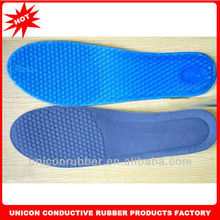 High quality comfortable silicone insoles for shoes