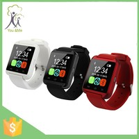 Hot sell Fashionable U8 Bluetooth smart watch phone with the cheap android smart watch price