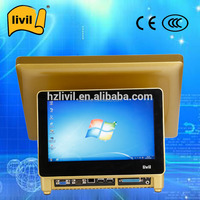 "15"" All in one Touch Screen POS Terminal with Credit Card Machine for Sale"