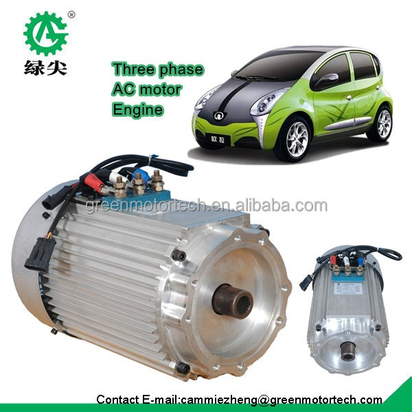 Electric Car Engine Motor Battery Power Supply To Electric