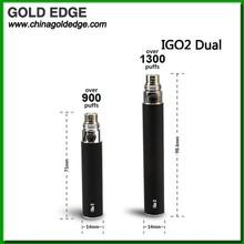 e cigarete 900 puffs&1300 puffs dual flavors clearomizer cigarete electronic