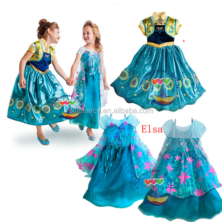 QKC-2292.jpg ...  sc 1 st  Alibaba & Quinceanera Dresses Little Girls Frozen Princess Elsa Costume Qkc ...