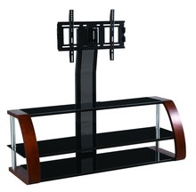 modern wood glass aluminium led corner outdoor used high end universal plasma lcd tv pole stand