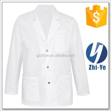 medical white style lab coat design