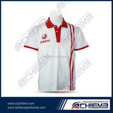 Fashion Design School Students Uniform Dry Fit Polo T Shirt