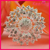 Custom crystal jewelry party decoration brooch WBR-1502