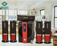 Wooden cabinet 5.1 subwoofer speaker DM8007
