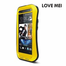 Newest Design Popular Cell Phone Case for New One for HTC , High Quality Mobile Phone Metal Case for htc Waterproof
