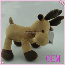 Customzie Stuffed Moose Soft Toys