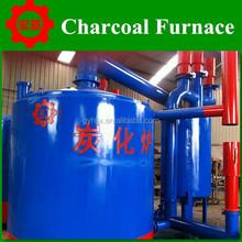 hoisting type energy saving charcoal carbonization stove